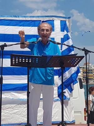 ΕΠΕΙΔΗ ΔΕΝ ΑΠΟΔΕΧΟΜΑΙ ΤΑ ΟΣΑ ΦΟΒΕΡΑ ΚΑΙ ΤΡΟΜΕΡΑ ΣΥΜΒΑΙΝΟΥΝ ΣΤΗ ΧΩΡΑ ΜΟΥ : ΠΡΟΤΕΙΝΩ!!! Γράφει : Ο Αθανάσιος Τσόκας