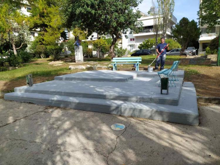 Δράσεις καθαριότητας απο τον Δήμο Χαλκίδας