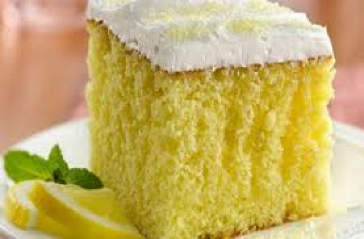Λαχταριστό κέικ λεμόνι!