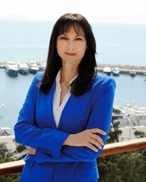 H Υπουργός Τουρισμού  Έλενα Κουντουρά στη Χαλκίδα
